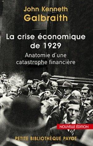 La crise économique de 1929 - Payot - 9782228906777 -