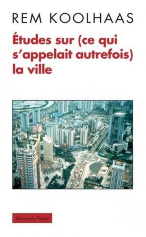 La ville aujourd'hui - payot - 9782228913775 -