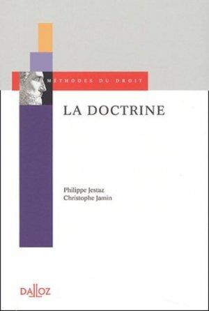 La Doctrine - dalloz - 9782247048953 -