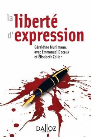 La liberté d'expression - dalloz - 9782247156269 -