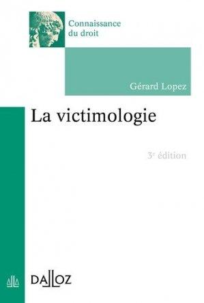 La victimologie - dalloz - 9782247188741 -