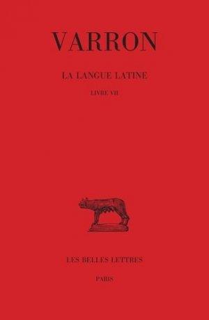 La langue latine - les belles lettres - 9782251014852 -