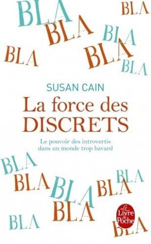 La force des discrets - le livre de poche - lgf librairie generale francaise - 9782253179887 -