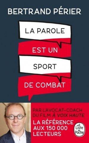 La parole est un sport de combat - le livre de poche - 9782253188186