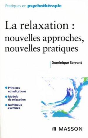 La Relaxation - elsevier / masson - 9782294706127 -