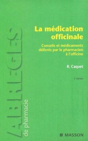 La médication officinale - elsevier / masson - 9782294707445 -