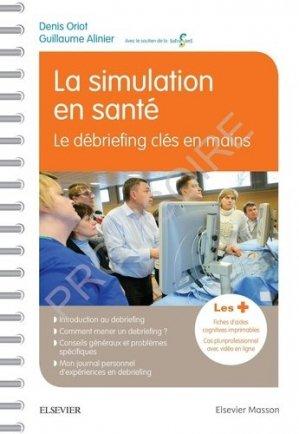 La simulation en santé - elsevier / masson - 9782294764394 -