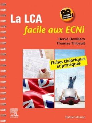 La LCA facile aux ECNi - elsevier / masson - 9782294766022 - Pilli ecn, ecn pilly 2021, pilly ecn 2022, pilly ecn feuilleter, ecn pilli consulter, ecn pilly 6ème édition, pilly ecn 7ème édition, livre ecn