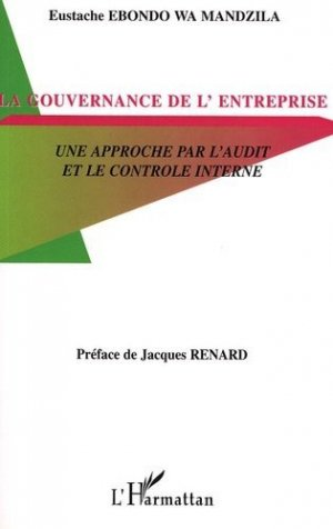 La gouvernance d'entreprise - l'harmattan - 9782296002456 -