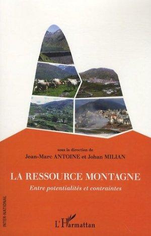 La ressource montagne - l'harmattan - 9782296550285 -