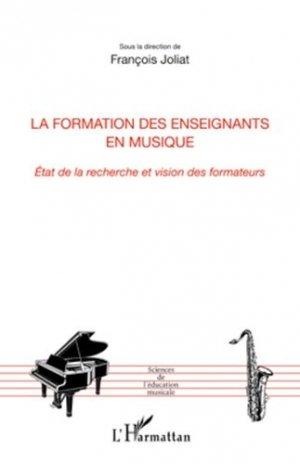 La formation des enseignants en musique - l'harmattan - 9782296563148 -