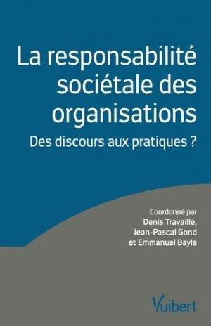 La responsabilité sociétale des organisations - Vuibert - 9782311400854 -