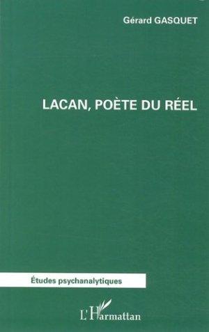 Lacan, poète du réel - l'harmattan - 9782336008226 -