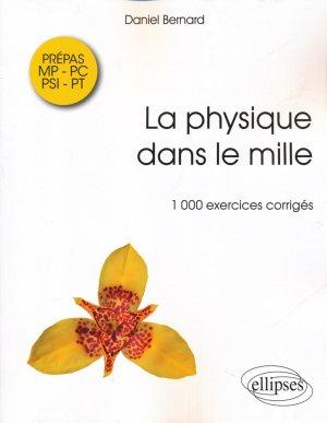La physique dans le mille - ellipses - 9782340010000 -