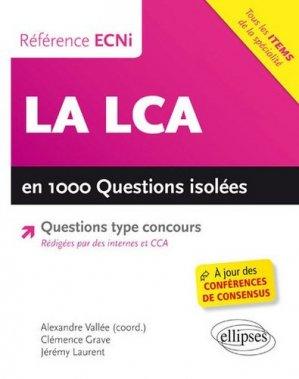 La LCA en 1000 questions isolées conforme à lECN - ellipses - 9782340013315 -