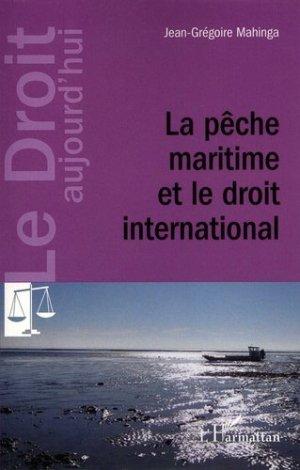 La pêche maritime et le droit international - l'harmattan - 9782343032504