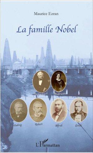 La famille Nobel - l'harmattan - 9782343076331 -