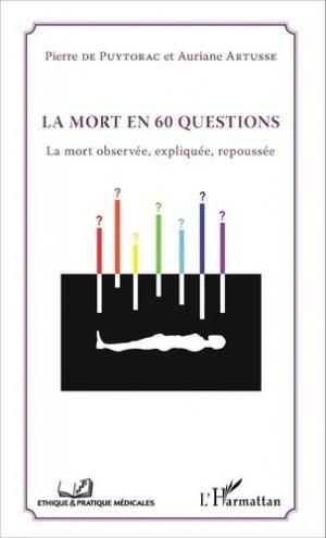 La mort en 60 questions - l'harmattan - 9782343088471 -