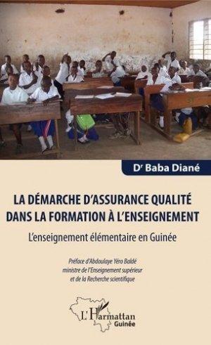 La démarche d'assurance qualité dans la formation à l'enseignement - l'harmattan - 9782343185101 -