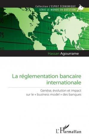 La réglementation bancaire internationale - l'harmattan - 9782343229010 -