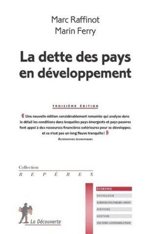 La dette des pays en développement - La Découverte - 9782348043604 -