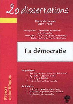 La démocratie - handk - 9782351413586