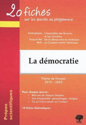 La démocratie - h&k - 9782351413593 -