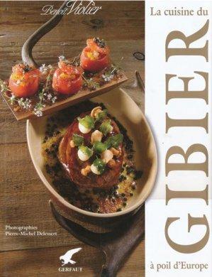 La cuisine du gibier à poil d'Europe - gerfaut - 9782351910511 -