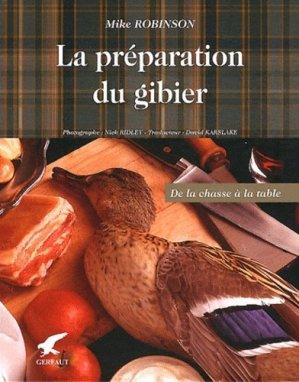 La préparation du gibier - gerfaut - 9782351910801 -