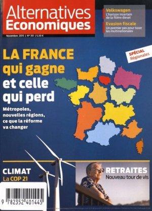La France qui gagne et celle qui perd - Alternatives économiques - 9782352401445 -