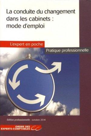 La conduite du changement dans les cabinets : mode d'emploi - Expert Comptable Média - 9782352673378 -