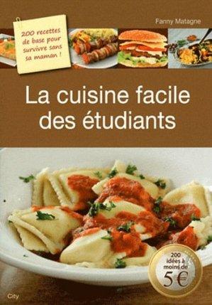 La cuisine facile des étudiants - city - 9782352887591 -