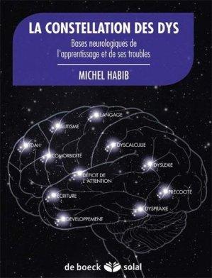La constellation des dys - de boeck superieur - 9782353272624 -
