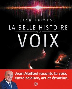 La belle histoire de la voix - solal - 9782353274420 -