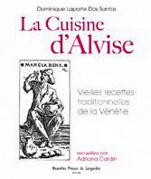La cuisine d'Alvise - Nouvelles Presses du Languedoc - 9782354140588 -