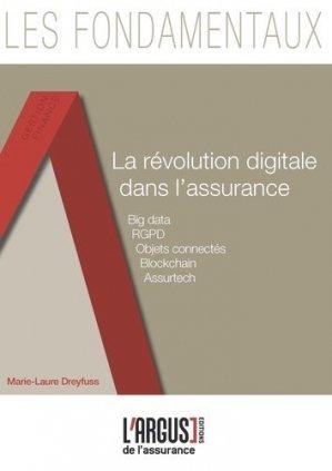 La révolution digitale dans l'assurance - Groupe Industrie Services Info - 9782354743048 -