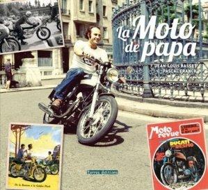 La moto de papa - terres - 9782355302572 -