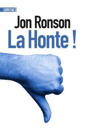 La honte ! - Sonatine - 9782355846564 -