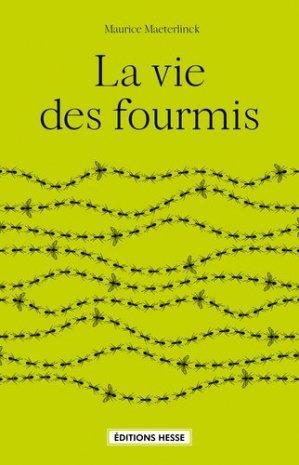 La vie des fourmis - hesse - 9782357060692 -