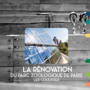 La rénovation du Parc zoologique de Paris. Les coulisses - Archibooks - 9782357333369 -