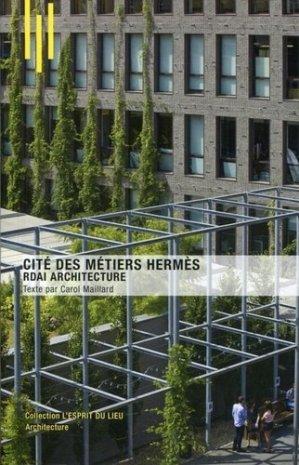 La cité des métiers Hermès à Pantin - archibooks - 9782357333550 -