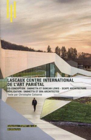 Lascaux centre international de l'art pariétal - Archibooks - 9782357334427 -