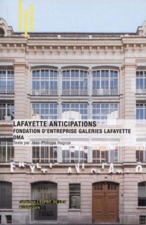 Lafayette anticipations - Archibooks - 9782357334878 -