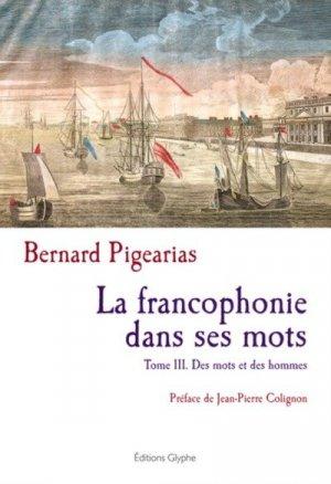 La francophonie dans ses mots - glyphe  - 9782358152563 -