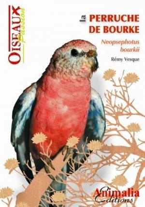 La Perruche de Bourke - animalia - 9782359090451 -