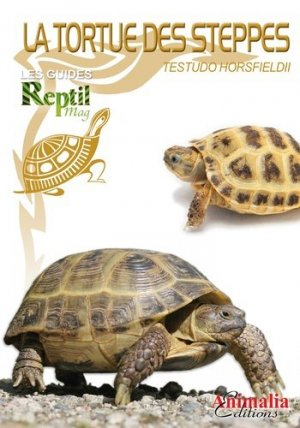 La tortue des steppes - animalia - 9782359091182 -
