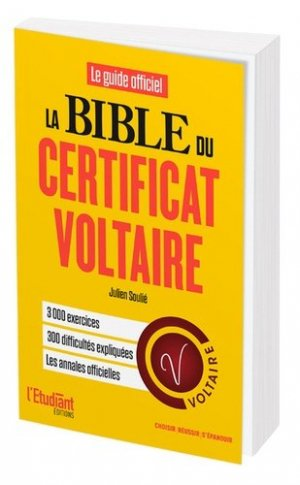 La bible du certificat Voltaire - de l'opportun - 9782360756988 -