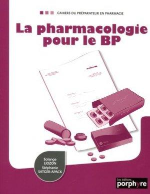 La pharmacologie pour le BP-wolters kluwer-9782362920295