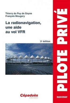 La radionavigation, une aide au vol vfr - cepadues - 9782364931930 -