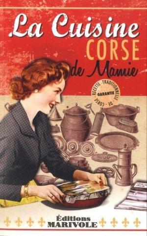 La cuisine corse de mamie - marivole  - 9782365752541 -